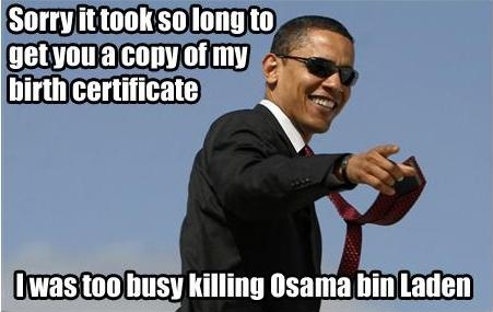 Obama Birth Cert