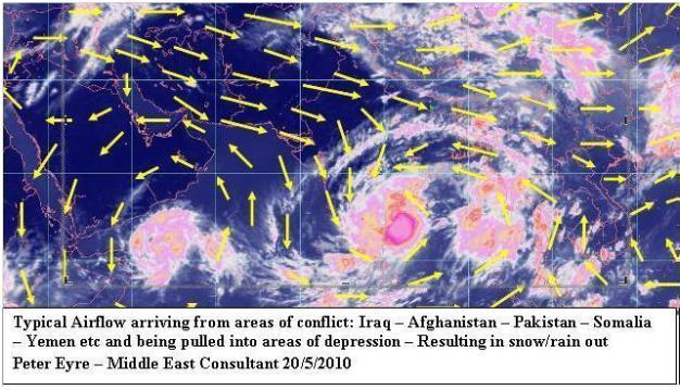 Monsoon and Cyclone activity