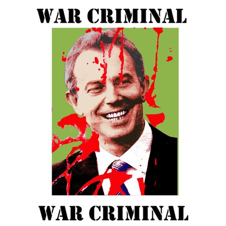 aa-Tony-Blair-war-criminal-poster | Eyre International - Bringing ...
