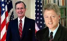 Bush Clinton