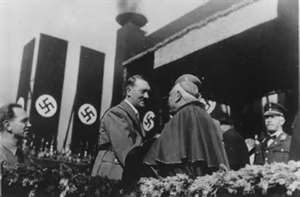 Jesuits connection with the Nazi's
