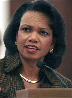 Is cult-feminism and Condoleezza Rice partly to blame for the war ?