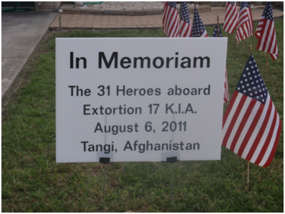 Extortion 17 memorial