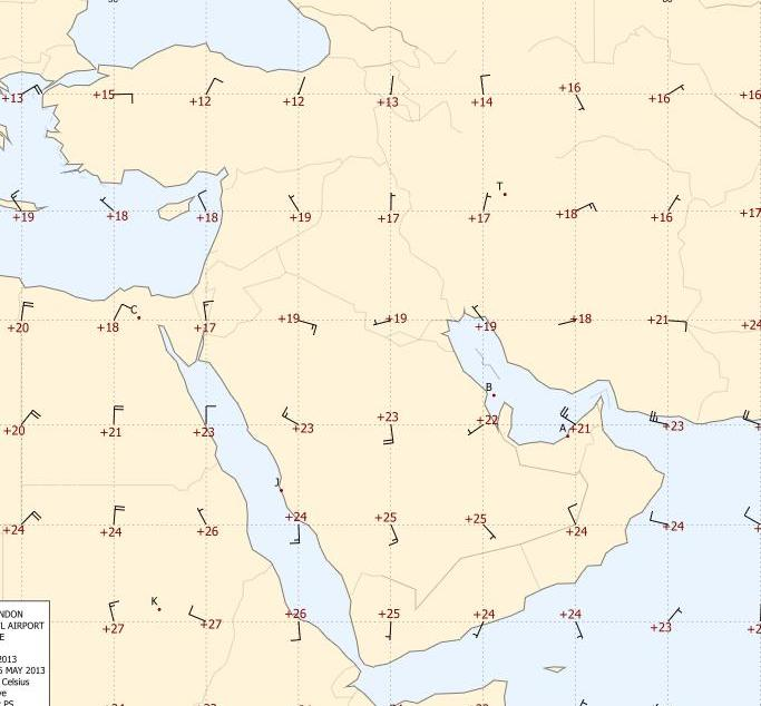 Middle East Winds
