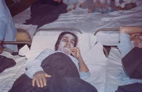 Gas victims Iran