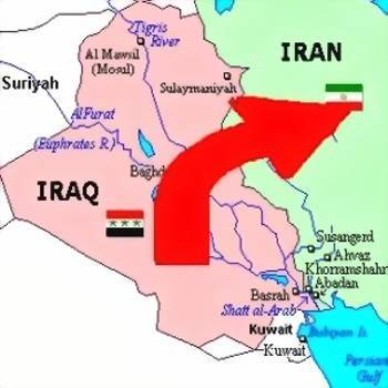 map_iraq-iran